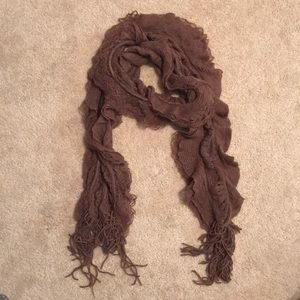 Purple winter scarf womens one size